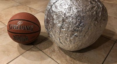 tinfoil ball