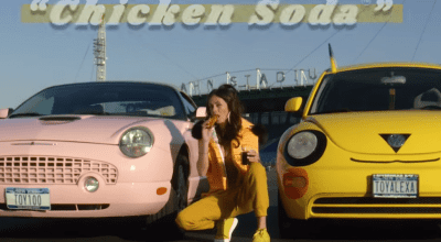 chicken finger dipping soda