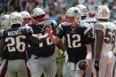 Sony Michel, Tom Brady